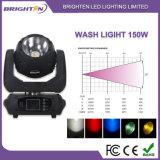 Moving Wash 150W LED Stage Lighting for Club Pub Disco