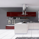 High Gloss Kitchen Furniture MDF Lacquer Kitchen Cabinet Modern Style