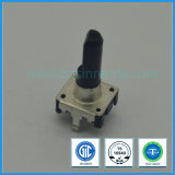 12mm Rotary Encoder with Switch Plastic Flat Shaft for Audio Equipment