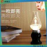 Brightness Adjustable Eye-Caring Table Control Lamp Retro Blow LED Lamp