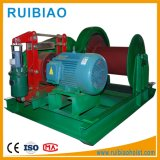 Electric Winch Lifting Material Use