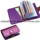 Wholesale New Design PU Leather Bank Card Holder