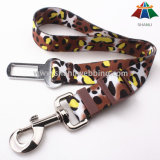 "Hot-Sale High-Quality Heat-Transfer Printed 1"" Adjustable Nylon/Polyester Dog Savety Seat Belt"
