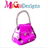 Handbag Design for Gift Crystal Bag Coin Bank