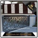 Laser Cut Decorative Aluminum Garden Door