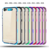 Colorful Plated Call Flash TPU Case for iPhone 6