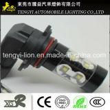 60W LED Car Light 50W High Power LED Auto Fog Lamp Headlight with H1/H3/H16/H8 Light Socket CREE Xbd Core