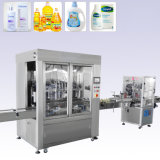 Linear Type Milk Tea Beverage Automatic Water Cup Filling Machine Labeling Machine