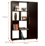 Modern Wooden Office Filing Cabinet /Storage Cabinet / Bookcase (HX-DR248)