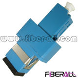 LC to Sc Hybrid Fiber Optic Adapter Simplex Plastic Blue