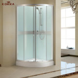 Sliding Complete Shower Room with Hand Shower (white silkscreen)