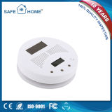 Solar Cell Supply Carbon Monoxide Detector with LCD Display