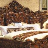 Wooden Bed for Bedroom Furniture Set (A05)