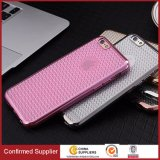 Best Selling Diamond Pattern TPU Electroplating Bumper Back Cover Phone Case