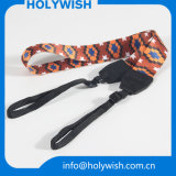 Colorful Polyester Sublimation Camera Strap with Double Hook