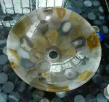 Good Quality Semi Precious Stone Agate Slab for Washbasin