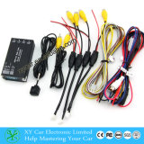 Front/Rear /Right/Left View Quad Camera Control Box, Car Video Switcher Xy-7028