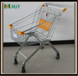 60 Liters Shopping Trolley with Elevator Castors Mjy-60b-E