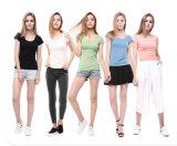 Fashion Plain Cotton T-Shirt with Different Colors