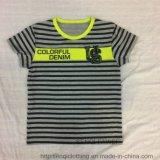 Toddler Boy Strip T-Shirt in Kids Chidlren Wear Sq-6322
