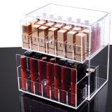2 Layer Drawer Type Long Lipstick Cosmetic Storage Box