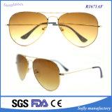 Retro Classic Full Silver Mirror Metal Frame Sunglasses