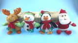 Plush Toy Christmas Animals Four Asst.