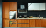 High Gloss White PVC Kitchen Cabinet (zs-280)