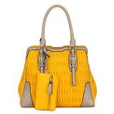 Designer PU Leather Fashion Lady Handbag (MBLX031075)