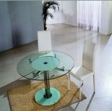 Pencil-Edge Tempered Glass Table Top (GT)
