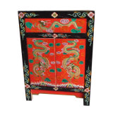 Chinese Antique Wooden Painted Cabinet Lwb665