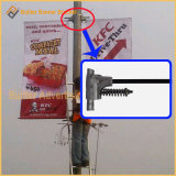 Metal Street Light Pole Advertising Display Bracket (BT-BS-073)