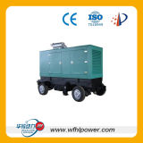 Four Wheels Mobile Diesel Generator Set