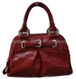 Fashion Ladies′ Leather Handbag (M9641)