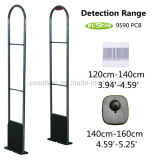 Black Stainless Steel Supermarket Anti-Theft EAS RF Security System (AJ-RF-SYSTEM-001) .