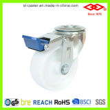 4 Inch Rotary Bolt Hole Braked Caster (G103-30D100X35IS)