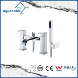 Top-Mount Dual Handle Bath Shower Faucet with Hand Shower (AF6033-2A)