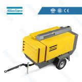 Atlas Copco 185 Cfm Towable Mobile Diesel Screw Air Compressors