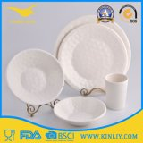 Microwave Safe Different Ware Melamine White Home Goods Dinner Set