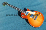 Flamed Maple Top Honeyburst Quality Standard Les Lp Electric Guitar
