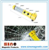LED Flashlight LED Emergency Hammer with Strong Magnet on Bottom