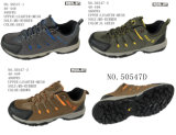 No. 50547 Men′s Hiking Shoes Leather Shoes