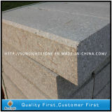 Natural G636 Granite Flamed Block Step & Kerbstone for Paving