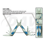 "4"" Closed S. Steel Handle Multi-Pliers with Satin Pliers/Tool: 4ln1-40bl"