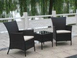 Luxury Wicker Furniture Set with Rattan Table