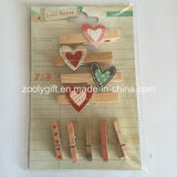 Wooden Shaped Clothespin / Decorative Mini Wood Pegs