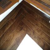 Floating Syetem Black American Engineered Walnut Wood Floorings