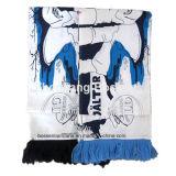 Customized Design Printed Cotton Football Scarf