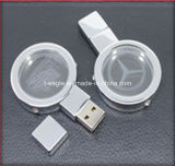 CE Approved 4GB Gift Crystal USB Flash Disk (FD-208)