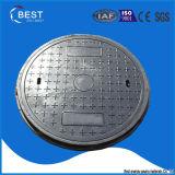 En124 D400 Composite Materials Round Manhole Cover Artistic Design